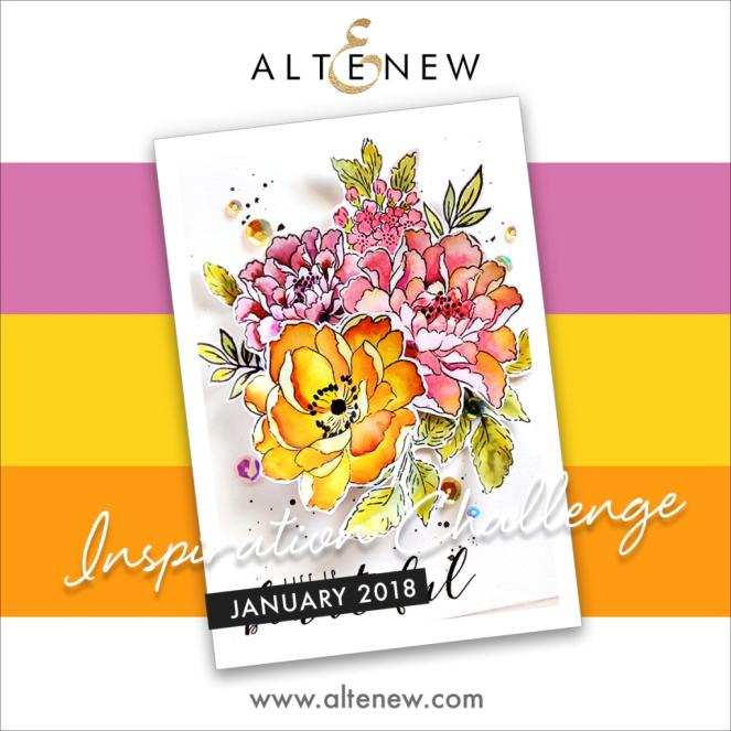 altenew challenge Jan 2018